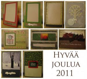 Joulukortit 2011